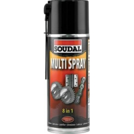 Spray universal de elevada qualidade SOUDAL Multi Spray, 400 ml
