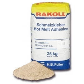 Cola termofusível (hot-melt) RAKOLL TE 558 com 25 kg